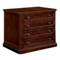 "36""W 2 Drawer Traditional Veneer Lateral File, 30855"