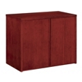 "Wood Veneer Two Door Storage Cabinet - 36""W, 36165"