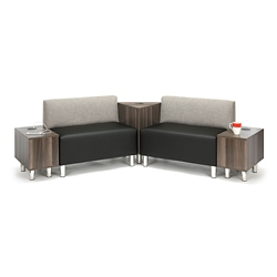 Riverside Five Piece Loveseat Lounge Set, 76577