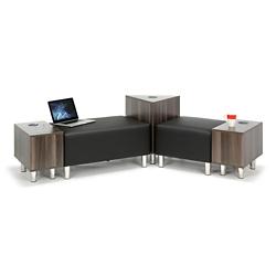 Riverside Five Piece Ottoman Lounge Set, 76579