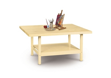 """Two Person Maple Workbench - 28"""" x 64"""", 92173"""