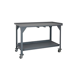 "Mobile Industrial Workbench - 60""W x 30""D, 46292"