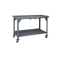 "Mobile Industrial Workbench - 72""W x 30""D, 46294"