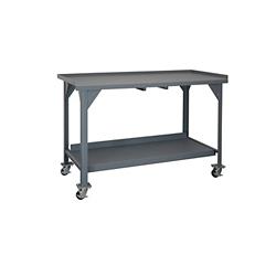 "Mobile Industrial Workbench - 72""W x 30""D, 46294"