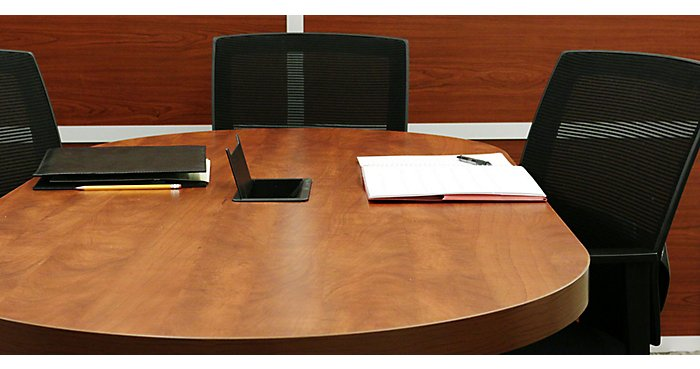 How to Style a Conference Table