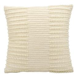 "kathy ireland by Nourison Pearl Striped Rectangular Pillow - 16"" x 16"", 82256"