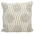 "kathy ireland by Nourison Rose Pattern Square Pillow - 20"" x 20"", 82261"