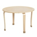 "Child-Sized Round Bentwood Play Table - 30""DIA x 20""H, 41834"