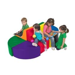Child-Sized Soft Seating - Eight Piece Set, 82084