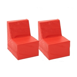 Child-Sized Soft Seating - Two Piece Set, 82085