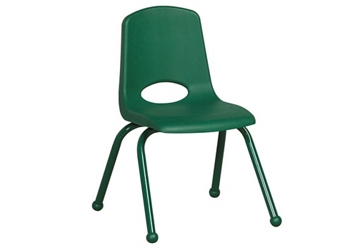 "Stack Chair with Matching Legs and Ball Glides 16""H Seat, 51624"