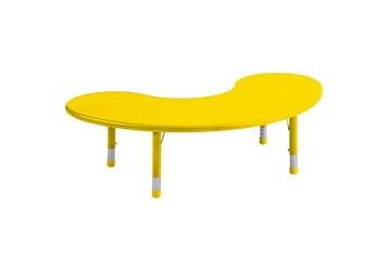 Resin Activity Table Kidney Shaped, 92161