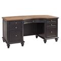 "Two Tone Executive Desk - 66""W, 14254"