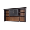"Two Tone Hutch with Reversible Door Panels - 85""W, 14261"