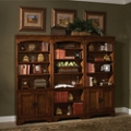 "Bookcase Wall with Four Doors - 79""H, 32175"