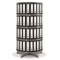 Fully Rotating Binder Carousel - 4 Tiers, 36658