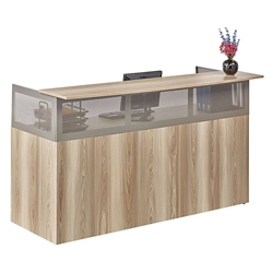 At Work Reception Desk with Pedestal , 14966