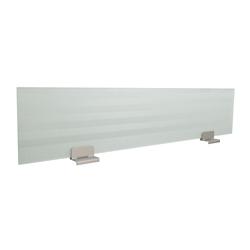 "60""W Single Desk Glass Privacy Panel, 91526"