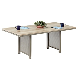 At Work 6'x3' Conference Table in Warm Ash, 40027