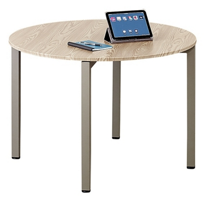 Small round table for office Office Desk At Work 42 National Business Furniture Round Conference Room Tables Shop Pedestal Tables For Executive