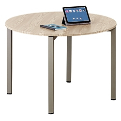 Round Conference Room Tables Shop Pedestal Tables For Executive - Small round meeting table