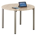 "At Work 42"" Round Conference Table in Warm Ash, 40030"