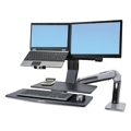 Dual Monitor Sit Stand Station, 86418
