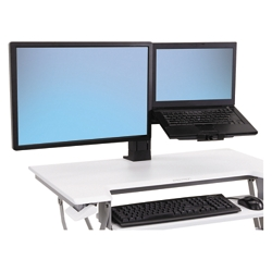 "Monitor & Laptop Sit Stand Kit, 17.5""W, 86422"
