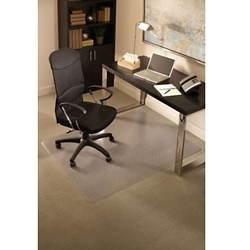 "Standard 45"" x 53"" Chair Mat for Carpet, 54121"