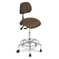 3 in 1 Sit-Stand Stool with IC+ Small Seat and Polyurethane Back, 21244