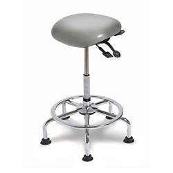 Small Seat IC+ Upholstered Sit-Stand Stool , 21246