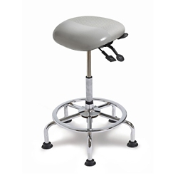 Small Seat Polyurethane Sit-Stand Stool with No Slip Strip, 21247