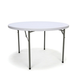 "Round Folding Table - 48""DIA, 46897"