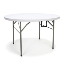 "Round Center Folding Table - 48""DIA, 46896"