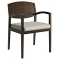 Wood Frame Fabric Guest Chair, 55609