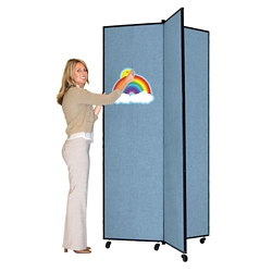 "Three Panel Display Tower - 3'8""W x 6'5""H, 21476"