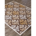 "Damask Print Area Rug - 60""W x 90""D, 82541"