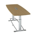 "Height Adjustable Conference Table 94""W x 36""D by Focal Upright, 45079"