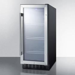 Slim Glass Door Refrigerator - 3 Cubic Ft, 87393