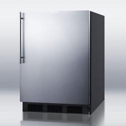 Stainless Steel Door Freezer - 5.1 Cubic Ft, 87399