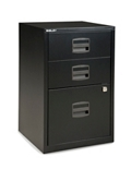 "Three Drawer Filing Cabinet- 27""H, 34575"
