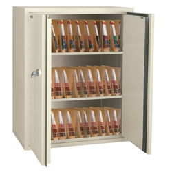 "Fireproof Medical Storage Cabinet 44""H, 31849"