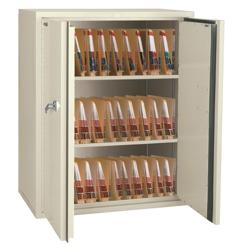 "Fireproof Medical Storage Cabinet 44""H, 31849"