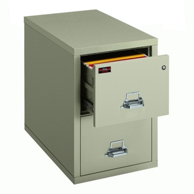 Two Hour Rated Fireproof Two Drawer Vertical Legal File, 34308