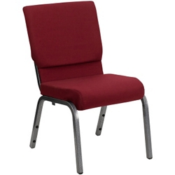 "Fabric Wing-Back Assembly Chair - 18.5""W, 51574"