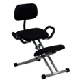 Kneel Chair with Handles and Glides, 56631