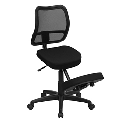 Mesh Back Kneel Chair with Five Star Base, 56632