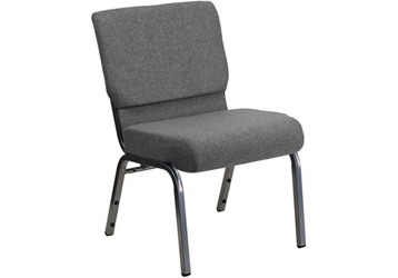 "Fabric Wing-Back Church Chair - 21.5""W, 82953"