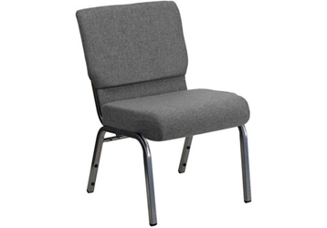 "Fabric Wing-Back Church Chair - 21.25""W, 82954"