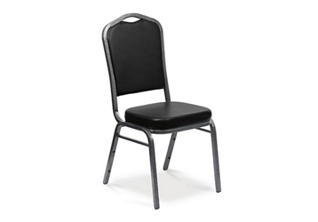 Crown Stack Chair in Vinyl, 51074